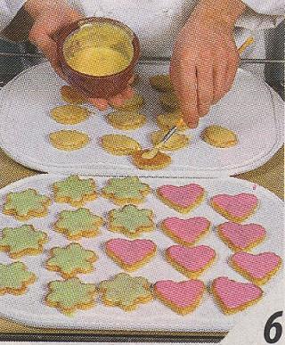 Как сделать зеленую глазурь для печенья