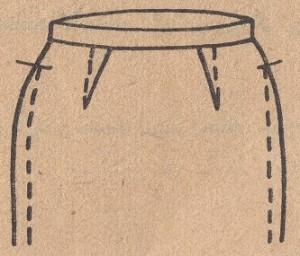 Исправляем дефекты посадки юбки