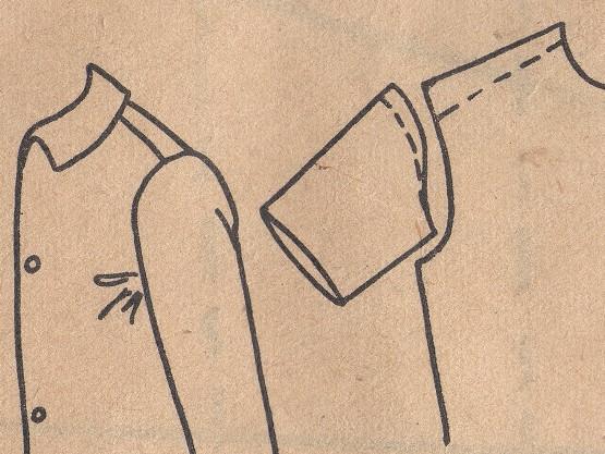 Широкая Блузка Сползает Назад