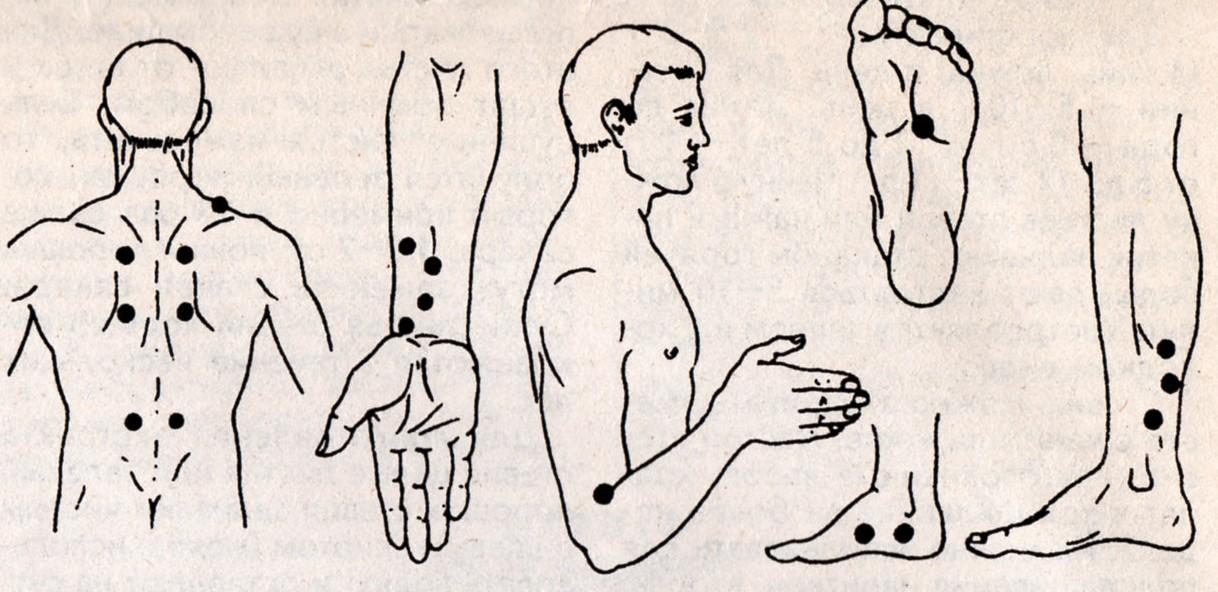 Приемы массажа при головокружении